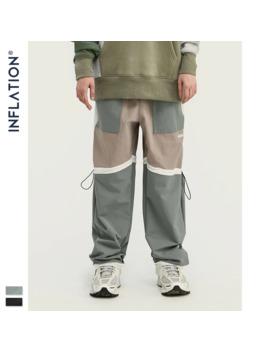 Inflation 2019 Fw Unisex Jogger Pants Drawstring Waistband Mens Woven Track Pant Streetwear Mens Jogger Pants 93393 W by Ali Express.Com