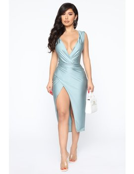 Every Occasion Midi Dress   Blue by Fashion Nova