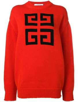 4 G Logo Sweater by Givenchy
