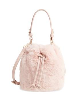 Furry Faux Fur Crossbody Bag by Bp.