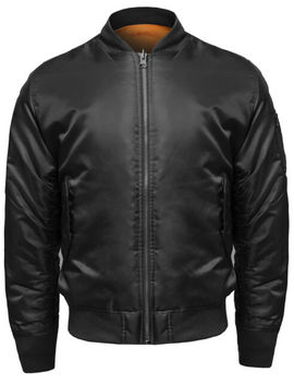 Fashion Outfit Men's Classic Basic Air Force Flight Zipper Details Bomber Jacket by Ebay Seller