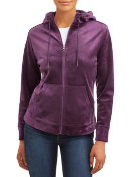Time And Tru Velvet Jacket Women's by Time And Tru
