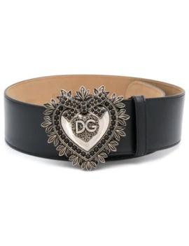 Devotion Leather Belt by Dolce & Gabbana