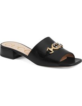 Zumi Slide Sandal by Gucci