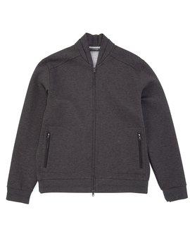 Slim Fit Neoprene Full Zip Jacket by Murano
