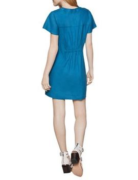 Flutter Sleeve Shirt Dress by Bcbgeneration
