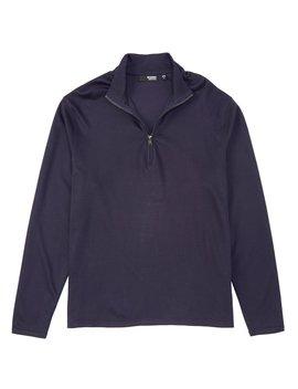 Liquid Luxury Solid Half Zip Pullover by Murano