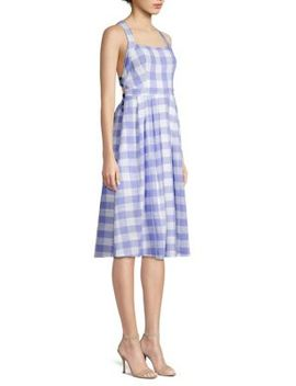 Lillian Cotton & Linen Blend A Line Dress by Astr The Label