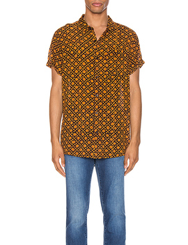 Beach Boy Shirt In Old Gold by Rolla's