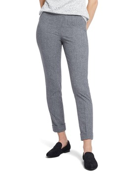 Forever Flannel Ankle Pants by Nic+Zoe