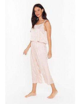 Wild Nights Jacquard Cami Pajama Set by Nasty Gal