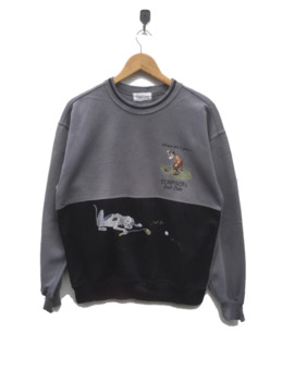 Rare The Simpsons Golf Club Crewneck Nice Design by The Simpsons  ×  Cartoon Network  ×