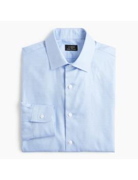 Slim Fit Ludlow Premium Fine Cotton Dress Shirt In Houndstooth Twill by J.Crew