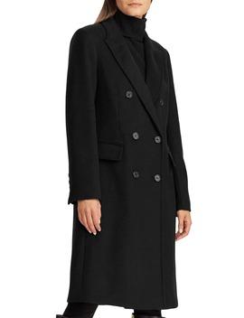 Double Breasted Reefer Coat by Lauren Ralph Lauren