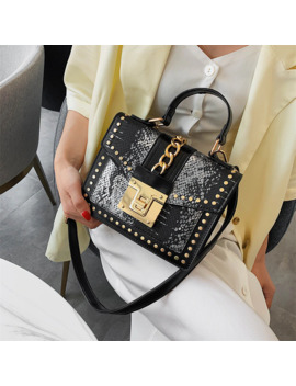 Female Crossbody Tote Bags Women 2019 Quality Leather Luxury Handbags Designer Sac Main Ladies Serpentine Shoulder Messenger Bag by Ali Express.Com