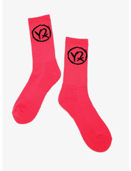 Yungblud Logo Crew Socks by Hot Topic