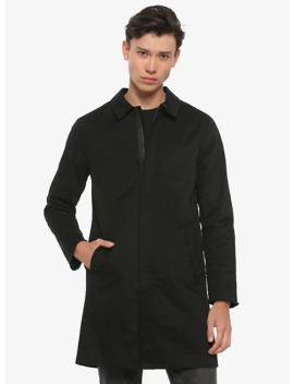 Black Trench Coat by Hot Topic