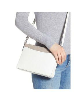 Kate Spade Convertible Crossbody Shoulder Bag Margaux White Medium Nwt $198 by Kate Spade New York