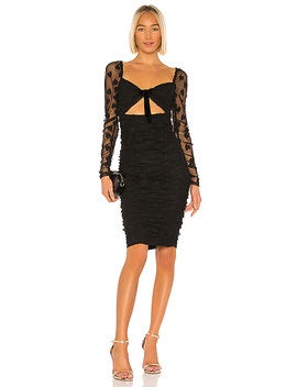 Jezebel Dress In Black by Lpa