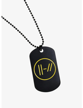 Twenty One Pilots Dog Tag Necklace by Hot Topic