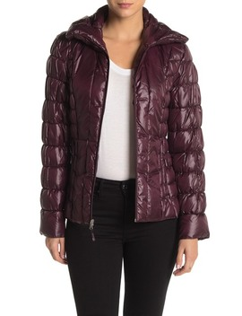 Quilted Packable Puffer Jacket by Kenneth Cole New York