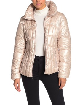Quilted Plush Jacket by Guess