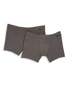 Cotton Essentials 2 Pack Boxer Briefs by Hanro