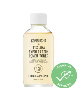 Kombucha + 11% Aha Exfoliation Power Toner by Youth To The People