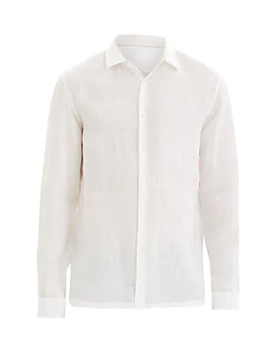 Murray Standard Fit Linen Irving Shirt by Theory