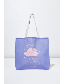Supre Foundation Tote Bag by Cotton On