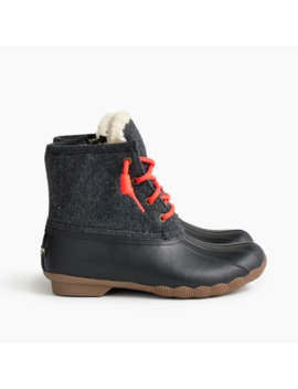 Women's Sperry® For J.Crew Shearwater Flannel Boots by Women's Sperry