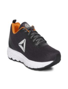 Men Purple & Black Zoom Running Shoes by Reebok