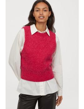 Alpaca Blend Sweater Vest by H&M