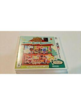 Nintendo Animal Crossing: Happy Home Designer (Nintendo 3 Ds, 2015) New Sealed by Ebay Seller