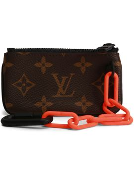 Louis Vuitton Pochette Cles Monogram Orange Brown by Stock X