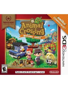 Nintendo Selects: Animal Crossing: New Leaf   Welcome Amiibo   Nintendo 3 Ds by Nintendo