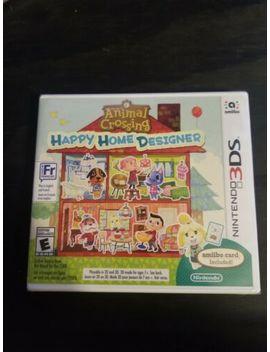 Animal Crossing: Happy Home Designer (Nintendo 3 Ds)   New Sealed by Nintendo