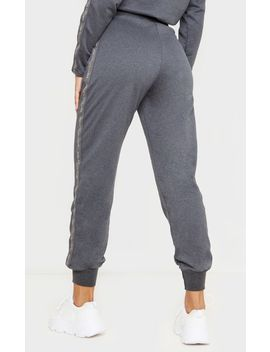Prettylittlething Charcoal Basic Jogger by Prettylittlething