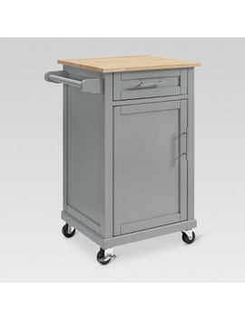 Carey Small Kitchen Cart   Gray   Threshold™ by Threshold