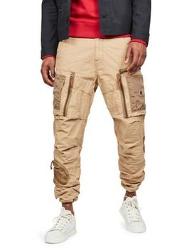 Arris Straight Tapered Cotton Canvas Cargo Pants by G Star Raw