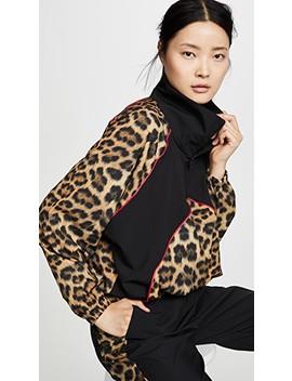 Leopard Goals Windbreaker by Terez