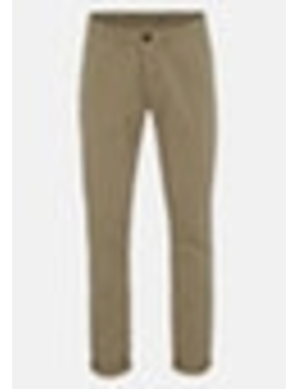Tobacco Lochlan Tapered Stretch Chino by Connor