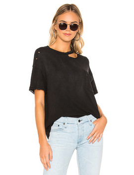 Lucky Tee In Black by Free People