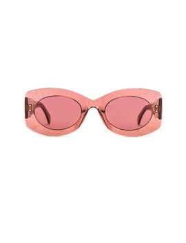 Soft Round Stud Sunglasses by Alaia
