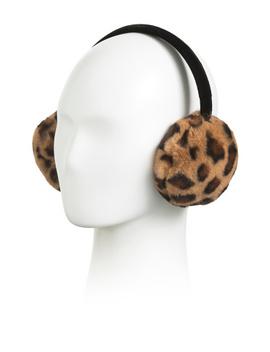 Koda Leopard Earmuffs by Tj Maxx
