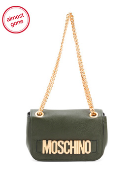 Made In Italy Leather Crossbody by Tj Maxx