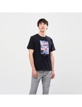Men Shinkai Film Ut (Short Sleeve Graphic T Shirt) by Uniqlo