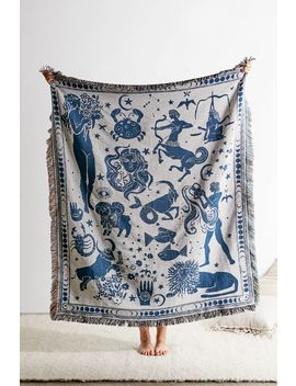 Zodiac Woven Throw Blanket by Urban Outfitters