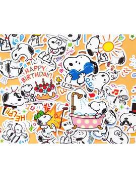 42pcs Snoopy Dog Planner Stickers, Vinyl Sticker, Journal Stickers, Kawaii Stickers, , Luggage Sticker Kit, Cute, Clipart, Scrapbooking by Etsy