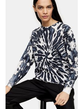 **Tie Dye Long Sleeve By Topshop Boutique by Topshop